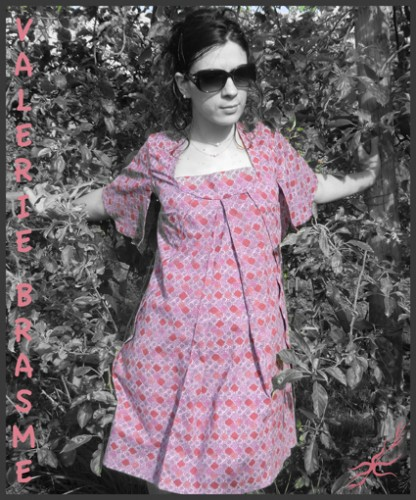 vêtement japonisant, createur, vêtement sur mesure, tunique, robe, été 2012