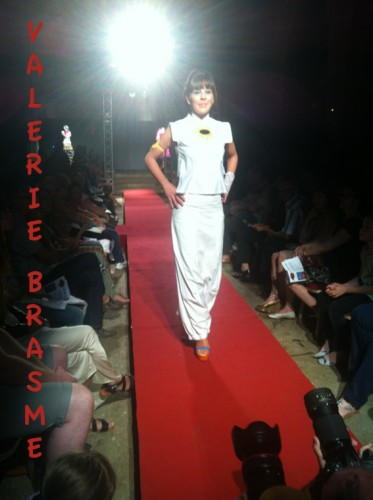 la nuit de la mode, Arles, créateurs, vetement japonisant